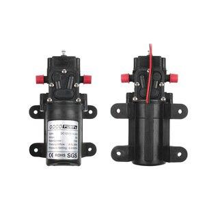 Image 5 - Micro Elektrische Membran Wasserpumpe DC12V24V 70W Hochdruck Auto Waschen Spray Wasser Pumpe 0,9 Mpa 6L/min