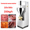200kg/h Vertical Automatic sausage filling machine SZ-200 stainless steel sausage Maker Commercial sausage machine 220V/380v 1PC