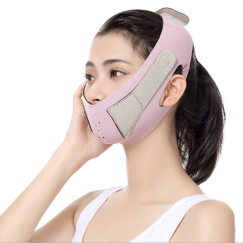 Elastic Face Slimming Bandage V Line LiftingFace Shaper Women Chin Cheek Lift Up Belt Facial Anti Wrinkle Strap Face Care Tools