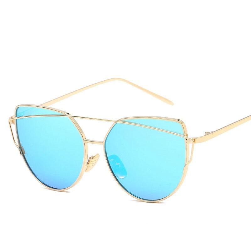 RBRARE 2019 Metal Frame Cat Eye Sunglasses For Women Trend Wpmens Spectacles Sun Shade Eyeglasses Shopping Oculo De Sol Feminino in Women 39 s Sunglasses from Apparel Accessories