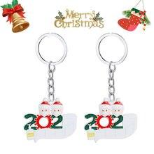 Новый Эмаль Рождество Брелоки украшения Дерево колокол снеговика