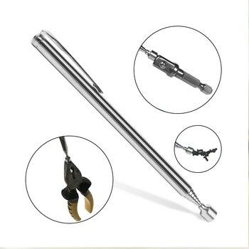 Мини Портативная телескопическая магнитная ручка Ручка палка для захвата стержня удлиняющий магнит ручная ручка набор ручных инструментов