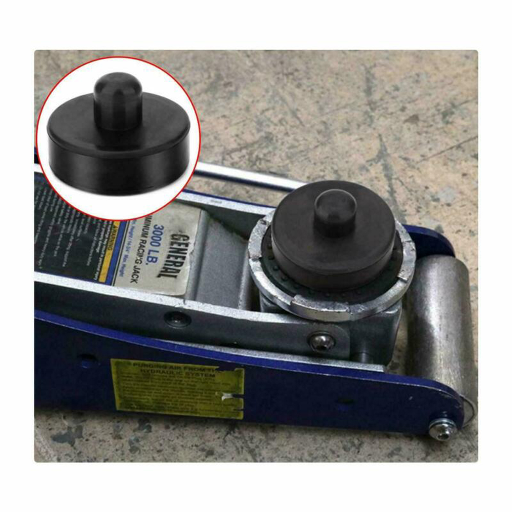 1pc Point Adapter Jack Lift Pad Black Rubber Tool For Tesla Model 3 Model S Model X Jack Adapter