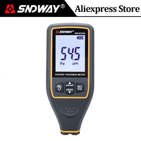 SNDWA Digital Auto Coating Thickness Gauge Refinishing Car Paint Meter Film Thickness Tester Width Measuring Instrument SW 6310A