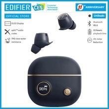 Edifier unibuds tws sem fio bluetooth fone de ouvido bluetooth 5.0 aptx display digital tela rápido até 32hrs tempo de reprodução