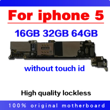 Tested Good Working Original 16GB 32GB 64GB Motherboard for iPhone 5 5g Factory Unlocked Mainboard Logic Board with IOS system все цены