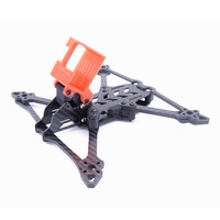 Smooth 5 225mm Wheelbase 5mm Arm 3K Carbon Fiber 5 Inch Frame Kit for RC Drone FPV Racing
