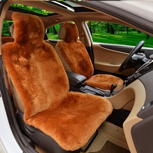 1 шт. чехлы для сидений автомобиля из натурального меха овчины один размер подходит для большинства(Универсальная посадка