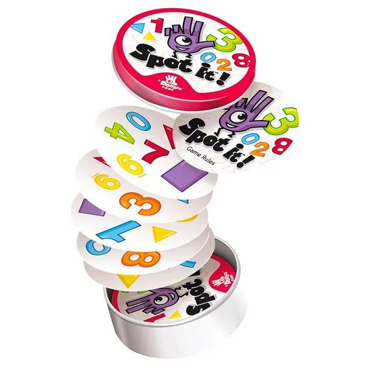 Игральная карточная игра с металлической коробкой, наслаждайтесь семейным собранием, двойной HP/Classic Red / MLG 2020, высокое качество