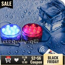 Mini UFO Underwater led aquarium light Submersible, RGB Remote Control