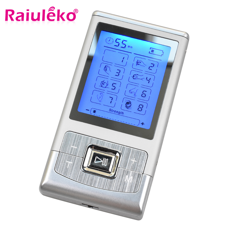 Digital Electronic Body Slimming Pulse Massage Muscle Relax Stimulator Acupuncture Therapy Massager Physiotherapy Apparatus Tool