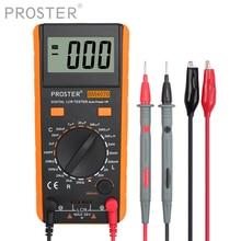 Proster LCR Meter With Overrange Display Capacitance Inductance Resistance Multimeter Self discharge Tester Measuring Meter