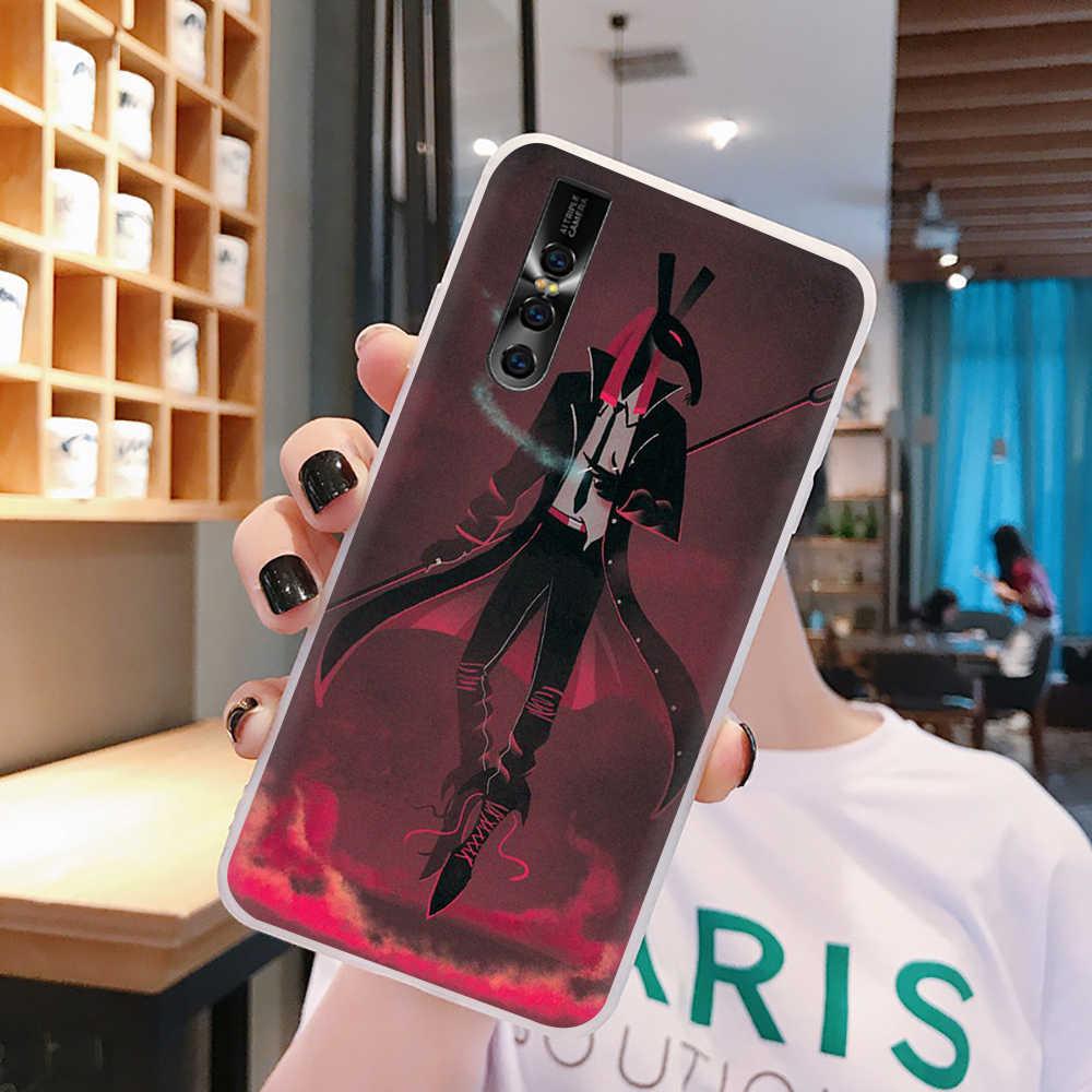 EWAU egipt Anubis egipski egipt telefon etui na VIVO Y53 Y81 V7 V9 V11 V15 Pro Y17 Y71 Y91 Y93 Y66 X9 Y11