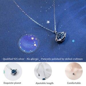 Image 5 - Herwish Il Piccolo Principe B612 Asteroid Pianeta Blu Entry Collane Di Lusso Pendenti Con Gemme E Perle di Cristallo di Modo Della Collana Dei Monili Delle Donne