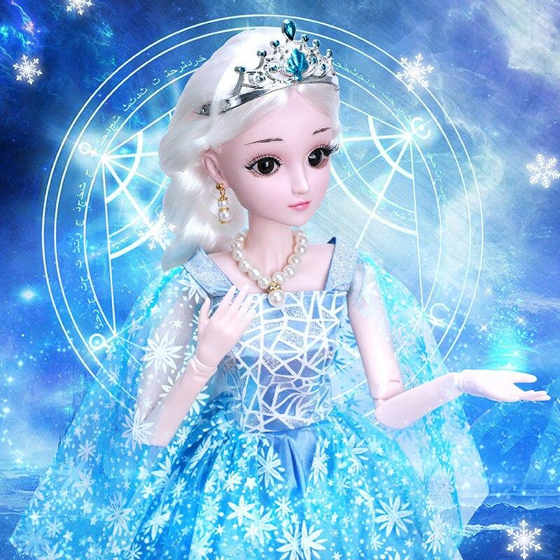 Детская кукла принцессы 60 см, Детский костюм динозавра Барби с музыкой для девочек, большая подарочная коробка, игрушка, подарок на день рож