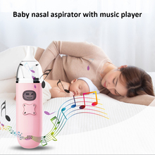 Baby Nose Toddler Sucker Suction Nasal-Aspirator USB 3-Levels Music-Player Rechargeable