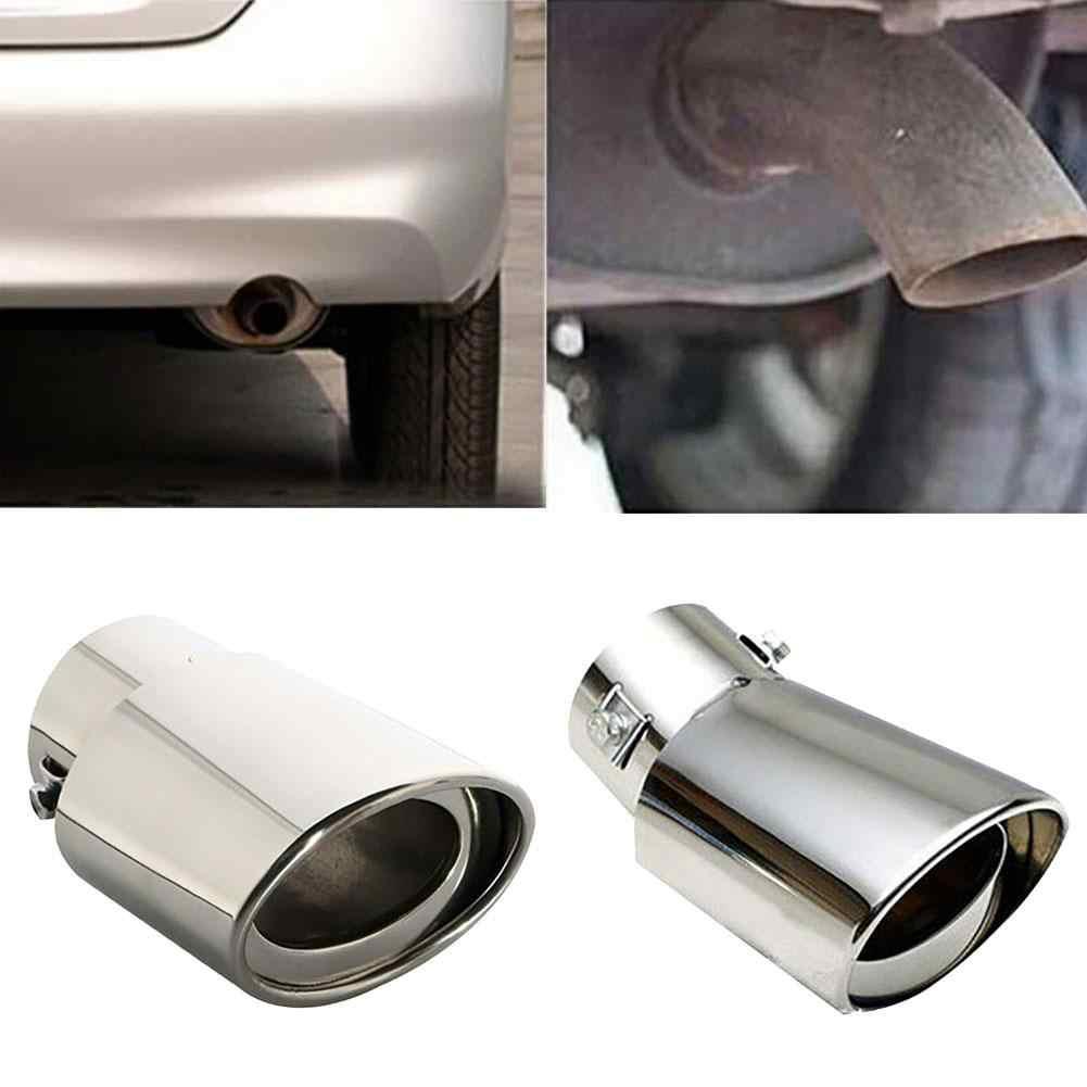 ユニバーサルステンレス鋼車の車両リアラウンドエキゾーて chrome 喉排気システム車のアクセサリー