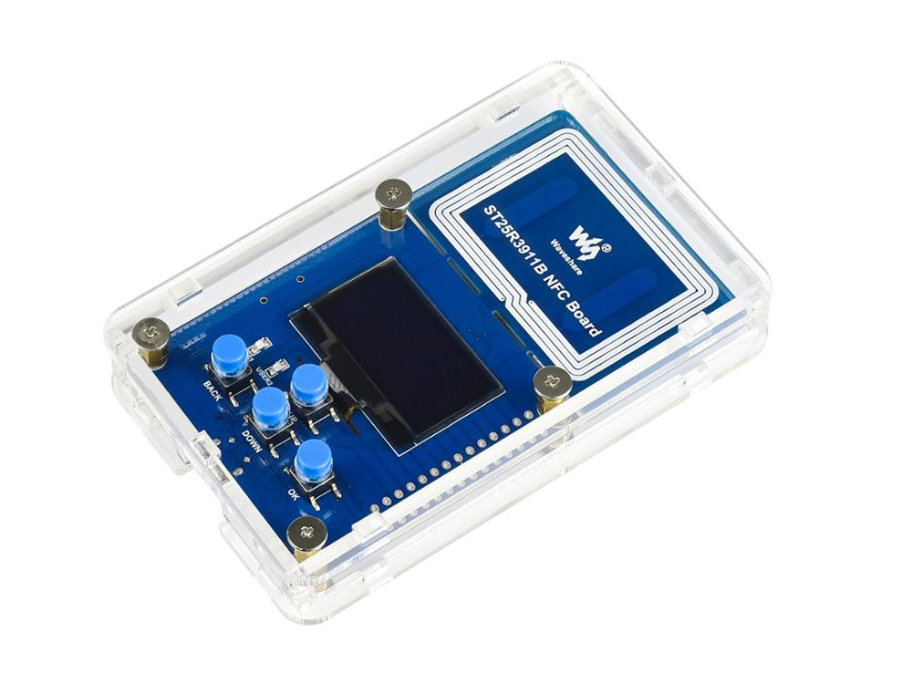 ST25R3911B NFC Development Kit, NFC Reader, STM32F103 Controller, Multi NFC Protocols