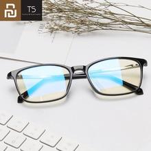 Youpin TS 45% Anti blu raggi 100% UV Occhiali di Protezione Occhiali di Protezione Degli Occhi Per Il Gioco Del Telefono Giochi Per Computer TV occhiali quadrati