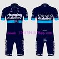 Blau Team novo nordisk 2019 Triathlon Bicicleta Skinsuits Lycra Overall Benutzerdefinierte Männer MTB Radfahren Körper Tragen Radfahren Kleidung Anzug-in Fahrrad-Sets aus Sport und Unterhaltung bei