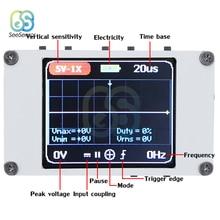 DSO188 Digital Oscilloscope 1M Bandwidth 5M Sample Rate Portable Pocket Handheld Mini Oscilloscope Kit