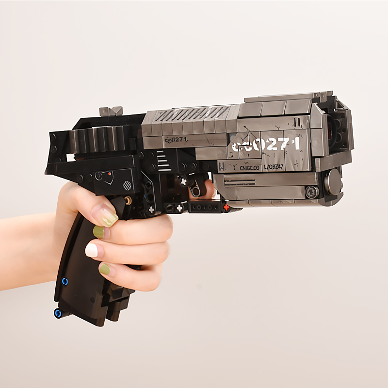 New 431pcs SWAT Technic Guns Model Pistol Building Blocks Bricks Military Weapon Handgun Toys for Children image
