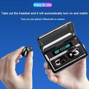 Image 2 - Fangtuosi 2020 Mới Âm Thanh Nổi Bluetooth Không Dây Thể Thao Tai Nghe Bluetooth Chụp Tai Không Dây Tai Nghe Có 2200 MAh Đế Sạc