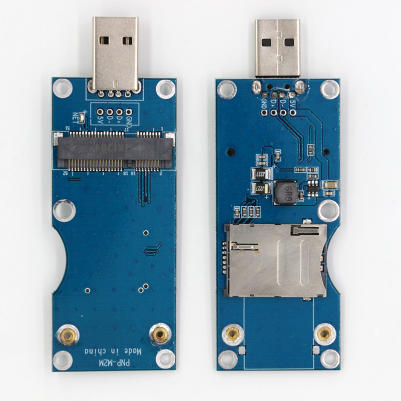 Mini Pcie to USB adapter with SIM UIM card slot for Quectel EC25 EC25-E EC25-AF EC25-AU EC25-A EC25-EU EC25-J EP06-E 4G module