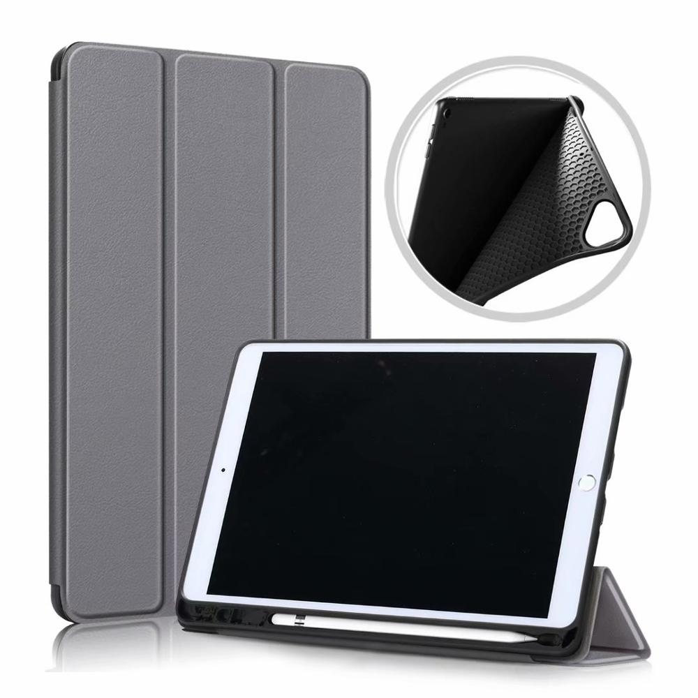 Grey Blue Ultra Slim Coque For iPad 10 2 2019 Case A2200 A2198 A2232 Smart Magnetic Folding Stand