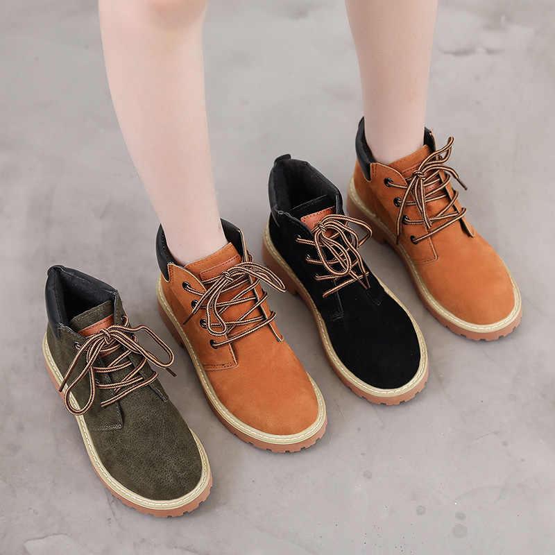 Fujin 2020 yeni varış kadın kış çizmeler patik çizmeler yuvarlak ayak ayakkabı sıcak kar botları moda platform ayakkabılar kadın yarım çizmeler