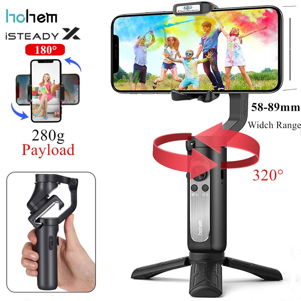 Clearance SaleHohem Smartphone Gimbal Stabilizer 3-Axis handheld Isteady Mobile-Plus Samsung S10 iPhone11pro/Max