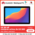 Глобальная версия HUAWEI Mediapad T5 Новый планшет 1080P Full HD 2 ГБ 32 ГБ 10,1 дюймов 4G LTE Android Kirin 659 Восьмиядерный отпечаток пальца