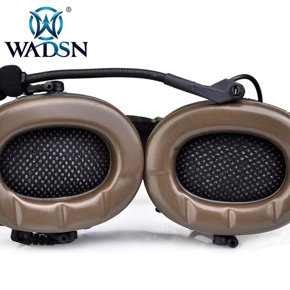 Z tático softair fone de ouvido combate