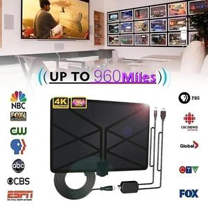 Image 3 - 960 Milesทีวีในร่มAmplifiedเสาอากาศดิจิตอลHDTV 4K HD DVB T Freeview TVสำหรับท้องถิ่นช่องBroadcastบ้านโทรทัศน์