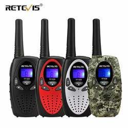 2 шт. RETEVIS RT628 мини рация для детей радио 0,5 Вт UHF частота, переносной радиоприемник станция ручной радио подарок