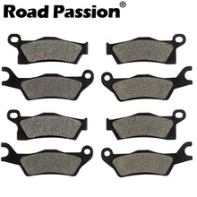 Road Passion Motorcycle Front and Rear Brake Pads for Can AM Renegade 500 800 800R 1000 STD EFI XXC 2012 2013 2014 2015 2016