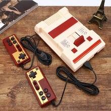 Console de videogame retrô clássico, console de jogos eletrônicos de 8 bits para tv, família de 30 aniversários + 2018 cartões de jogos, 500 controlador
