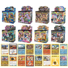 Game Collection Cards Pokemon Monster Fate Trading Card Kids Toys Chilling Reign Vivid Voltage Card toys