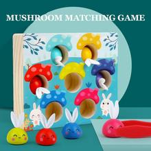 Education Toy Cognition-Toys Matching Game Wooden Childhood Early-Montessori Intelligence-Color