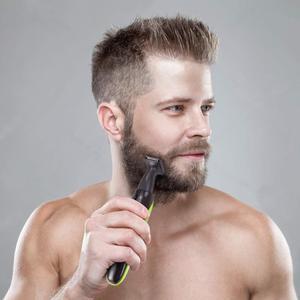 Image 4 - 4in1 전기 머리 트리머 남자를위한 수염 트리머 얼굴 눈썹 수염 머리 절단기 기계 이발 콧수염 정리 세트 usb