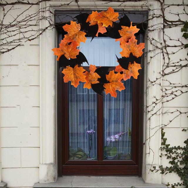Bat Leaf Hanging Halloween Decoration