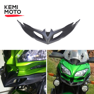 KEMIMOTO Front Fairing Aerodynamic Winglets For KAWASAKI Versys 650 2015 2016 2017 2018 2019 ABS lower Cover Protection Guards(China)