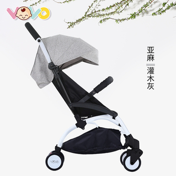 VOVO baby stroller ultra light folding can sit reclining trolley baby child kids simple summer umbrella baby stroller can sit reclining two way high landscape summer ultra light portable folding child baby simple umbrella