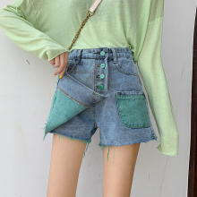 2019 Fashion Denim Shorts Women Jeans New Femme Push Up Skinny Slim