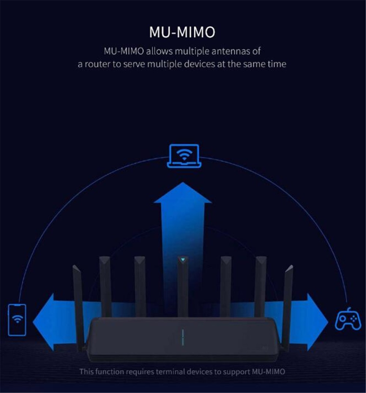 NEW Xiaomi AX3600 AIoT Router Wifi 6 5G Wifi6 600Mb Dual-Band 2976Mbs Gigabit Rate Qualcomm A53 External Signal Amplifier (16)