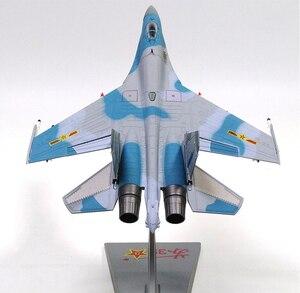 Image 5 - 1/72 échelle alliage combattant Sukhoi Su 35 avion de larmée de lair chinoise modèle jouets enfants enfants cadeau pour Collection