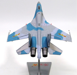 Image 5 - 1/72 스케일 합금 전투기 sukhoi Su 35 중국 공군 항공기 모델 완구 어린이 키즈 컬렉션 선물