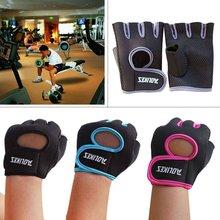 Вес подъема Велоспорт перчатки без пальцев Для женщин Для мужчин защитный волшебная палочка тренажерный зал Фитнес езды на велосипеде на открытом воздухе спортивный костюм аксессуары