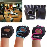 Gewichtheben Radfahren Halbe Finger Handschuhe Frauen Männer Schutzhülle Handwear Gym Fitness Außen Bike Reiten Sportswear Zubehör