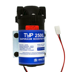 24V 50gpd RO Water Booster Pump Increase Reverse Osmosis Water System Pressure